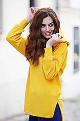 Mikiny - dámske mikinové tričko MANGO - 11267374_