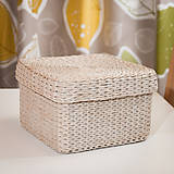 Krabičky - Krabica s vrchnákom na drobnosti - 11267728_
