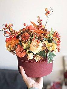Dekorácie - Podzimná dekorácia - 11267243_