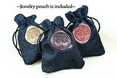 Náhrdelníky - Kvapka rosy- Drevený náhrdelník - 11264230_