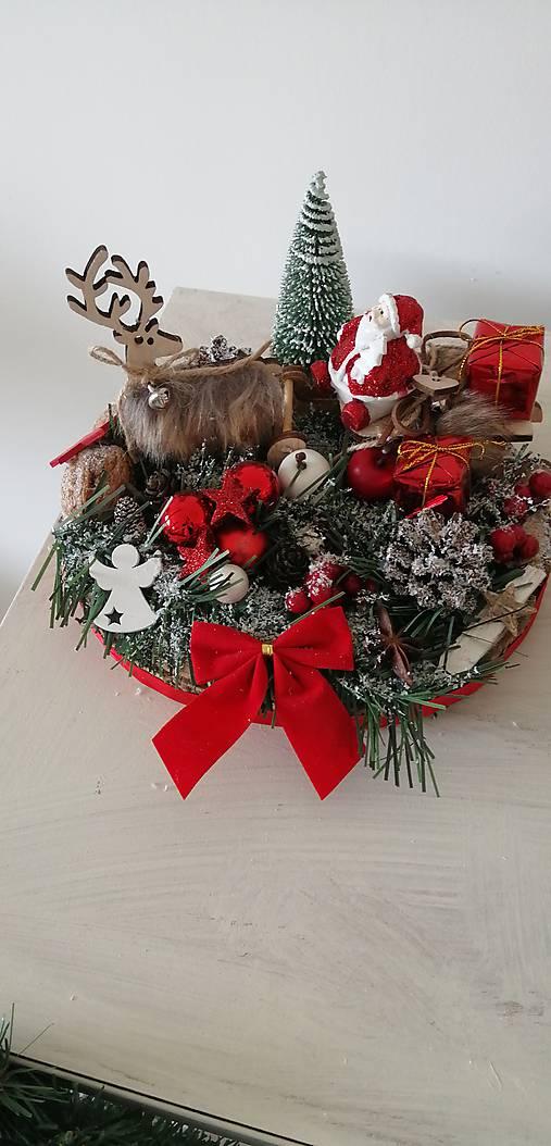 Dekorácia vianocna