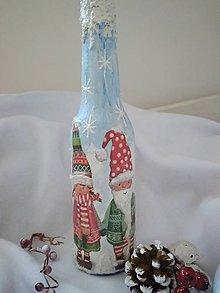 Dekorácie - Vianočný svietnik - 11267257_