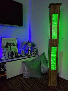 Svietidlá a sviečky - Vianočné osvetlenie  (Oliva 1,5m x20cm x 14,5cm  - Zelená) - 11265029_