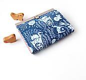 Peňaženky - Peňaženka s priehradkami Zvieratká s krajkou - 11263667_