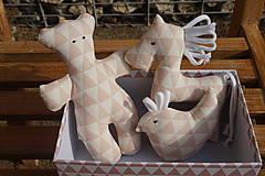 Hračky - súprava ...hračiek staroružová v krabičke - 11264158_