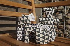 Hračky - súprava ...hračiek sivá? v krabičke - 11265050_