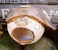Dekorácie - Keramická búdka pre vtáčiky - 11264774_
