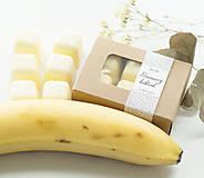 Svietidlá a sviečky - Banánový koktail - aróma - 11268016_