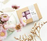 Svietidlá a sviečky - Sladké kvetinky vonný vosk - aróma - 11268017_
