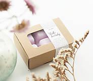 Svietidlá a sviečky - Sladké kvetinky vonný vosk - aróma - 11268018_