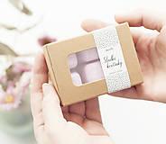 Svietidlá a sviečky - Sladké kvetinky vonný vosk - aróma - 11268019_