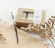 Svietidlá a sviečky - Vanilkové frappé vonný vosk - 11268022_