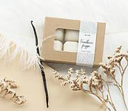 Svietidlá a sviečky - Vanilkové frappé vonný vosk - 11268023_