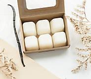 Svietidlá a sviečky - Vanilkové frappé vonný vosk - 11268024_