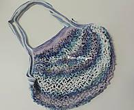 Nákupné tašky - Sieťovka - modrá - 11269451_