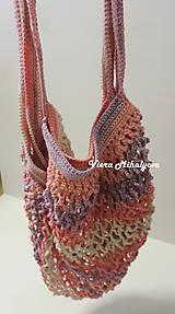 Nákupné tašky - Sieťovka - ružová - 11269535_
