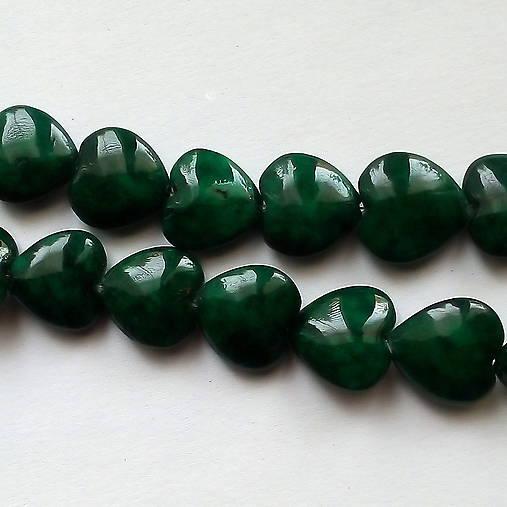 MARBLE srdce-1ks (12mm-smaragd)