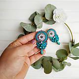 Náušnice - Vintage soutache earrings n.7 - sutaškové náušnice - 11268197_