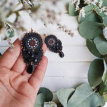 Náušnice - Vintage soutache earrings n.9 - sutaškové náušnice - 11268213_