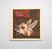Papiernictvo - Pohľadnica vianočná * pozdrav - 11269852_