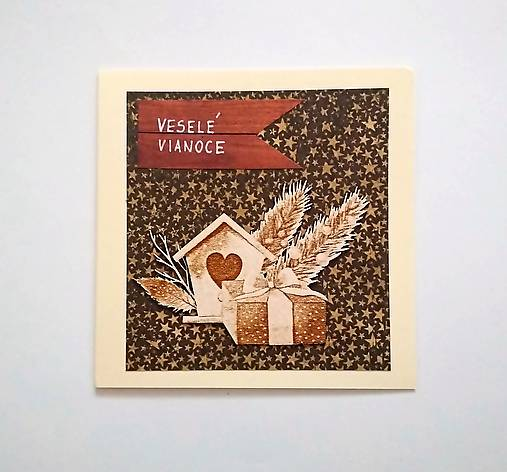 Pohľadnica vianočná * pozdrav