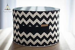Úžitkový textil - Sedací pufík z molitanu - 11268403_