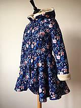 Kabáty - zimný kabát Na modrej lúke - 11270745_
