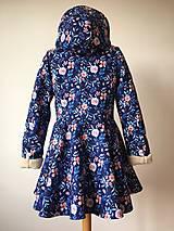 Kabáty - zimný kabát Na modrej lúke - 11270751_