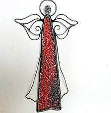 Dekorácie - Anjelská dekorácia na stenu - 11268467_
