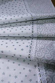 Úžitkový textil - Vianočná štóla-hviezdička - 11269110_