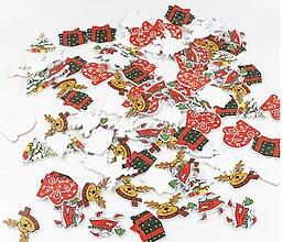 Polotovary - Výrez vianočný mix - 11269981_