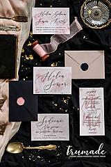 Papiernictvo - Svadobné oznámenia - Pink rock - 11270512_