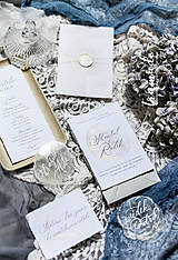 Papiernictvo - Svadobné oznámenia - Luna - 11270731_