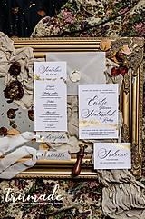Papiernictvo - Svadobné oznámenia - Doré Paris - 11270806_
