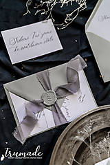 Papiernictvo - Svadobné oznámenia - Horse - 11270995_