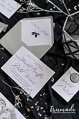 Papiernictvo - Svadobné oznámenia - Horse - 11270997_
