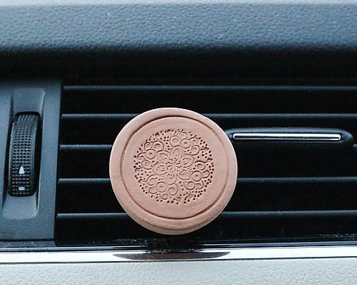 Difúzer na autoventilátor  (motív Mandala)