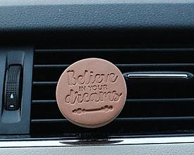 Drobnosti - Difúzer na autoventilátor  (motív Believe in your drems) - 11268188_