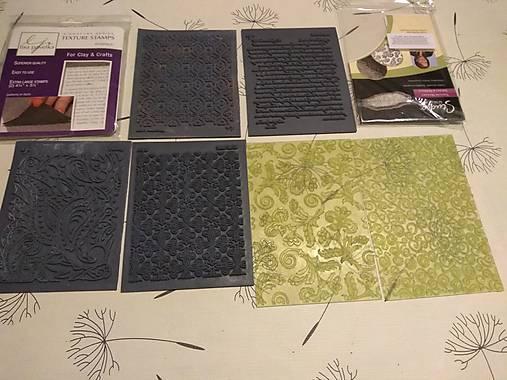 Textúry na polymérové hmoty