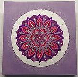 Obrazy - Mandala z piesku Diké - 11269437_