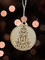 Dekorácie - Sada vianočných ozdôb II. - 11270846_