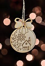 Dekorácie - Sada vianočných ozdôb III. - 11270861_