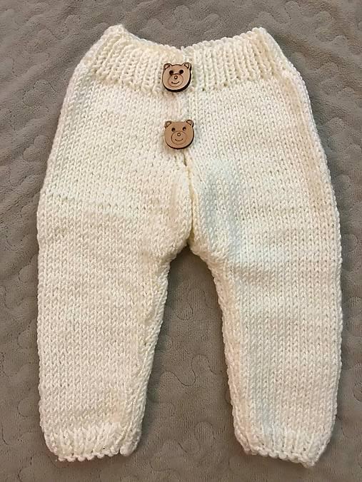 Detské pletené nohavice