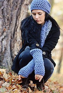 Rukavice - Návleky na ruce Soumrak - 11271159_