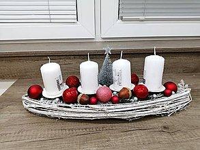 Dekorácie - Predám adventný svietník - 11271132_