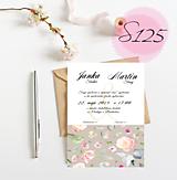 Papiernictvo - svadobné oznámenie 125 - 11270506_