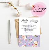Papiernictvo - svadobné oznámenie 127 - 11270559_