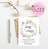 Papiernictvo - svadobné oznámenie 133 - 11270911_