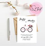 Papiernictvo - svadobné oznámenie S134 - 11270922_