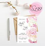 Papiernictvo - svadobné oznámenie 139 - 11271061_